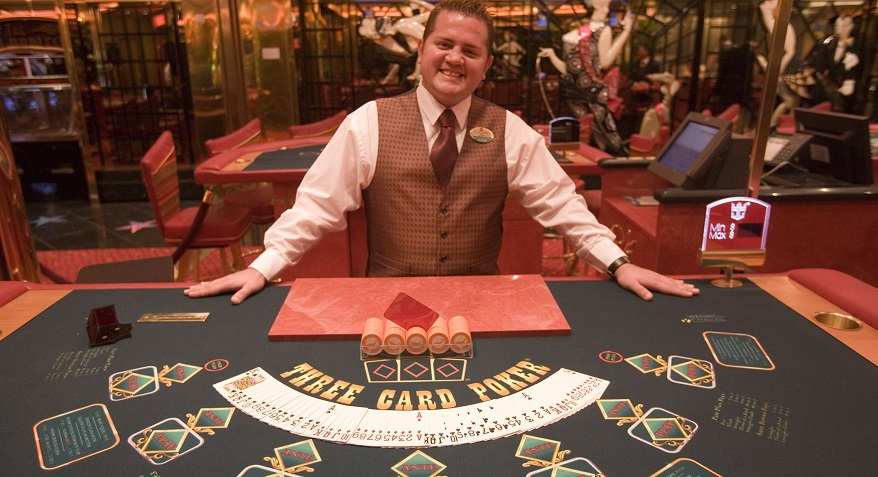 work at a casino in New Zealand